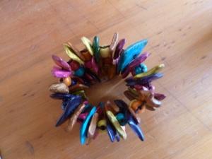 coloured bead bracelet 2