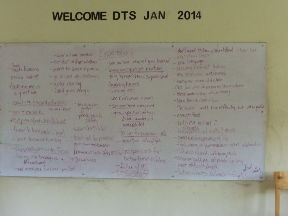 the team's expectations for their outreach in Uganda