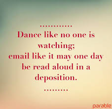dance email
