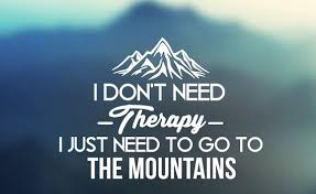 therapy mountains