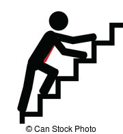 up-on-the-stairs-vectorillustration-man-trying-to-climb-the-stairs-drawing_csp20594090