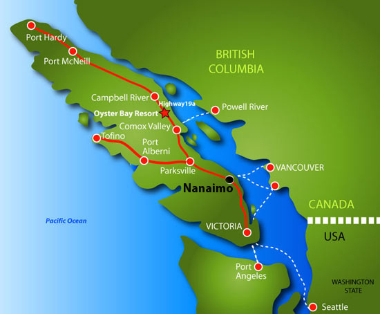 map nanaimo